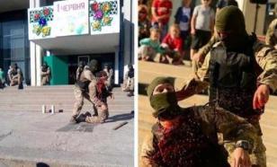 Спецназ научил украинских детей, как перерезать горла