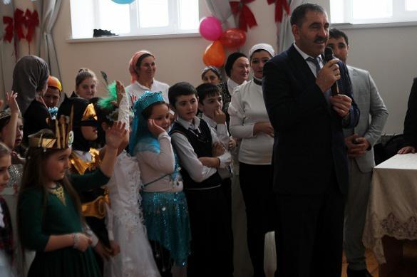 Глава Ингушетии поздравил с Новым годом особенных детей