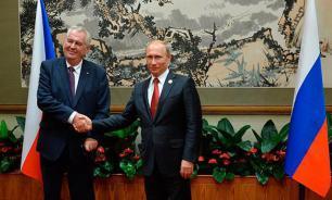 Чешские СМИ: Милош Земан выполняет программу Кремля