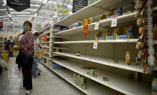 Из-за снегопадов опустели супермаркеты