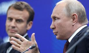 Путин напомнил Макрону о важности отношений России и Франции для Европы