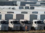 """""""Гуманные"""" бомбы на мирный конвой"""