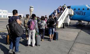 Египетский лайнер перед крушением полностью развернулся в воздухе