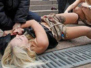 Феминистки FEMEN - против врагов США