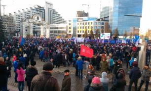 """""""Крым! Весна! Россия!"""": Как отмечают годовщину воссоединения"""