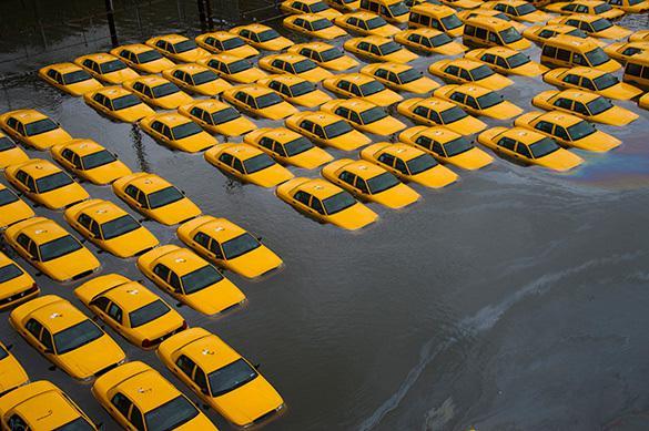 Глазами ученых: как будет затоплен Нью-Йорк