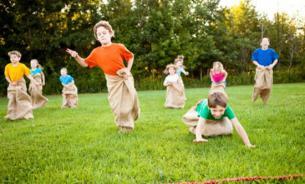 Спортивные игры для маленьких детей