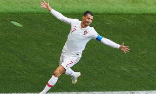Три гола Криштиану Роналду признаны лучшими в Лиге наций