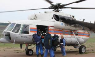 """Возможное место катастрофы """"Ил-76"""", пропавшего под Иркутском, определено"""