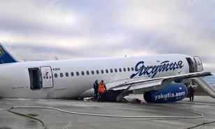 У еще одного Sukhoi Superjet отвалились шасси при посадке