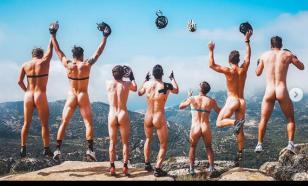 Швейцарские биатлонисты сфотографировались голыми в горах