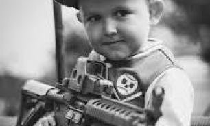 """""""Знать врага в лицо!"""": на школьном соревновании по стрельбе мишенью стало фото генерала США"""