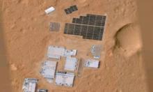 """На Марсе обнаружена загадочная """"база"""""""