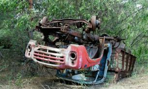 В Чернобыле найден заброшенный радиоактивный грузовик