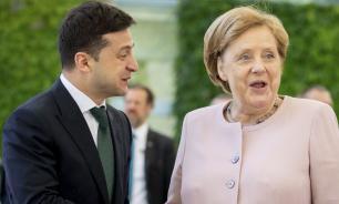 Немецкие СМИ раскритиковали Зеленского за оскорбление Меркель