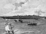 Круиз по морю на плавучем острове