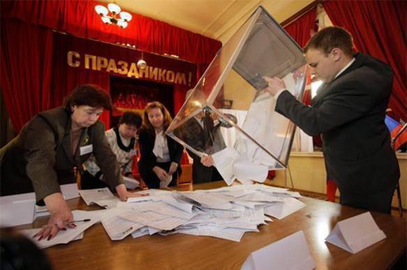 Первые результаты: В Госдуму проходят четыре партии