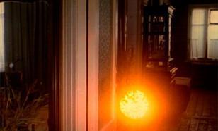 В окно к маленьким  новосибирцам заглянуло агрессивное НЛО