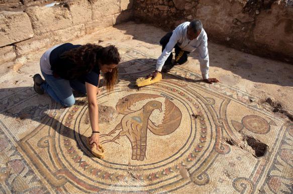 В Израиле обнаружили древний храм неизвестному мученику