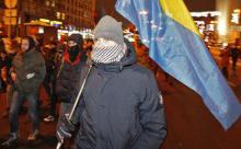 В Грузии задержаны прибывшие на митинг оппозиции вооруженные украинцы
