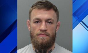 Макгрегор был арестован полицией Майами и выпущен под залог