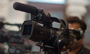 Ведущий телепередачи в прямом эфире выгнал из студии украинского политолога