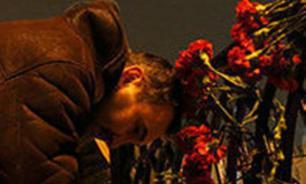 """Петербуржцы сложили из свечей слово """"Мама"""" в память о погибшем рейсе A321"""
