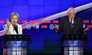 Сандерс и Клинтон поспорили о том, кто меньше зарабатывает