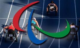 Белорусская сборная пронесла российский флаг на открытии Паралимпиады