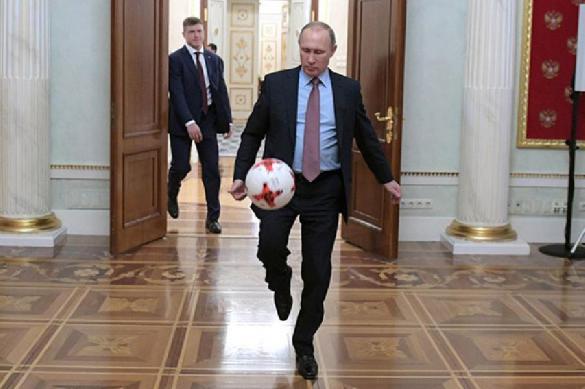 Путин рассказал, как будет болеть за Россию против Испании