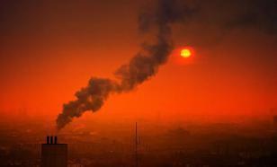 Челябинск: ядовитые выбросы сделали небо черным