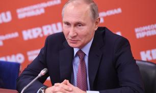 Путин о конкурентах: большое количество претендентов — это полезно