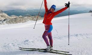 Лыжница Непряева вышла в лидеры общего зачета Кубка мира