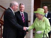 Королева умиротворяет Ольстер
