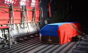 """В Липецке похоронили пилота """"Су-24"""""""