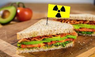 Какой урон может причинить радиоактивная пища