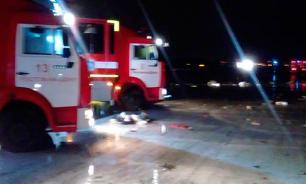 Комиссия по расследованию причин авиакатастрофы в Ростове начала работу. Названы первые версии