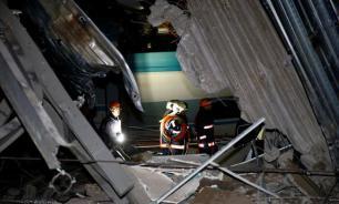 Опубликовано видео первых минут после катастрофы поезда в Турции