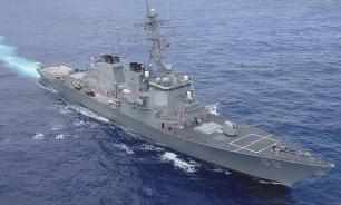 Российский фрегат встретился с эсминцем США