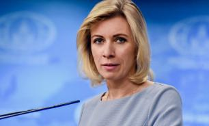 """Захарова назвала """"безумием"""" идею Киева создать русскоязычный канал"""