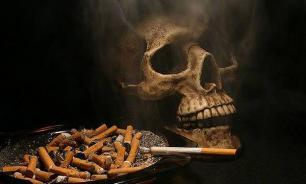 Никотин из дыма способен проникать в организм человека через кожу