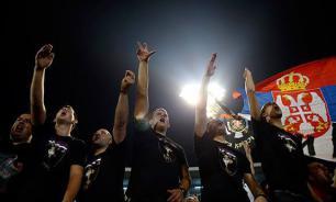 Сборной Сербии засчитали поражение в матче с Албанией из-за провокации...албанских фанатов
