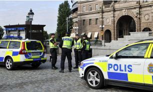 Шведский полицейский арестовал преступника в сауне