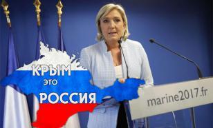 Марин Ле Пен назвала присоединение Крыма законным