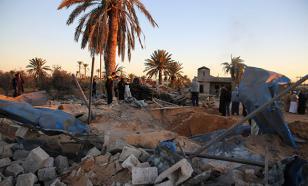 В Ливии загадочный самолет атаковал конвой ИГИЛ