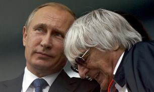 """Экс-глава """"Формулы-1"""": Путин – человек слова, он должен править Европой"""