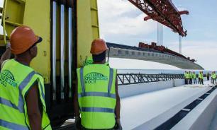 Поезда пойдут по Крымскому мосту до конца года