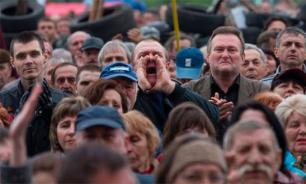 """На митинге в Петербурге потребовали отменить """"нечестные выборы"""""""