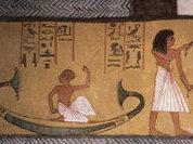 Загробный транспорт фараона Дена