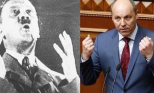 Парубий учится демократии у Гитлера